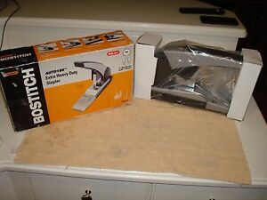 New In Box Stanley Bostitch Auto 180 Extra Heavy Duty Stapler W Instructions