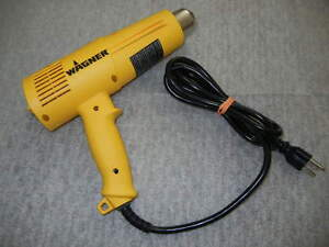 Wagner Heat Gun 0503173 1500 W 120 V 12 Variable Settings excellent Condition