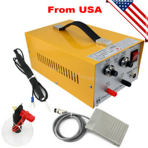 Pulse Sparkle Spot Welder Electric Jewelry Welding Machine usa Fast Shipping
