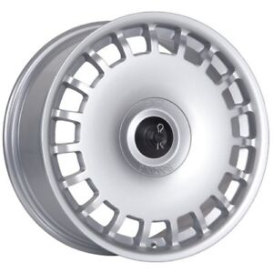 4 17 Esm Wheels 001 Dtm Rally Stance Style Wheel Silver 5x100 New Save