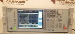 Anritsu Ms2830a Spectrum Analyzer W Options fresh Nist Certificate obo
