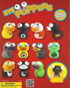 Vending Machine 1 00 Capsule Toys Ducky Eye Poppers Squeeze And Eye Pop