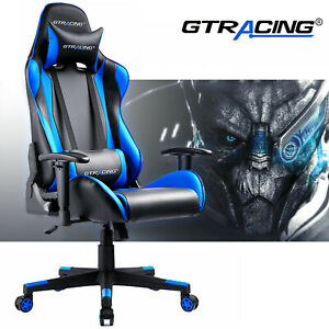 Gtracing Chair Executive Gaming Chair Leather High Back Office Recliner Chair