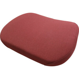 Amss7561 Seat Cushion Burgundy Fabric For Case 1070 1090 1170 1175 Tractors