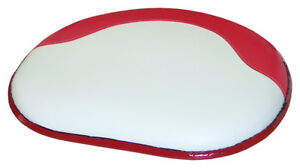 Amss7445 Seat Cushion Red And White Vinyl For International 460 560 660 Tractors