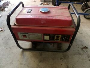A Lot Of 5 Used Pre Owned Generators Pick Up Only parts will Run