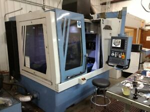 Anca Tgx Cnc 9 axis Tool Grinder 1998 Rebuilt 2014 W Shaublin Collet System