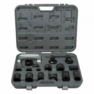 21pc Ball Joint Press Tool Adapter Set C Frame Gm Ford Dodge Repair Kit