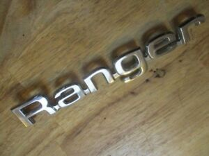 1980 Ford Ranger Emblem Letters Rat Rod Man Cave 1981 1982 One Piece Only