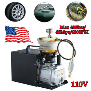 30mpa Electric Air Compressor Pump Pcp System Rifle 400bar 4500psi High Pressure