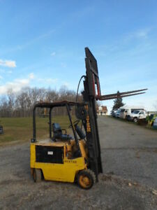 Hyster E60xl 33 Electric 6k Lbs Forklift Electric Forklifts