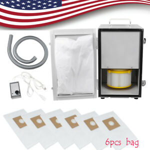 Dental Digital Dust Collector Collect Unit Vacuum Cleaner Equipment 6 Dust Bags