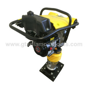 Jumping Jack Rammer Plate Compactor 6 5hp Epa carb Tamping Free Shipping