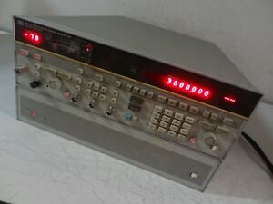 Hp Hewlett Packard 8673d Synthesized Signal Generator W Opt W30 05 26 0ghz