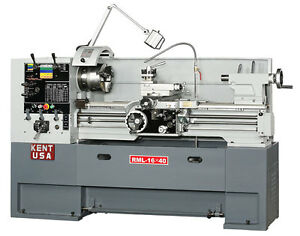 New Kent Rml 1640t 16x40 Lathe With Free Accessories Package