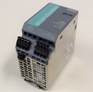 Sitop Psu300m Siemens 6ep1436 3ba10 Stabilized Power Supply 24v Dc 20a