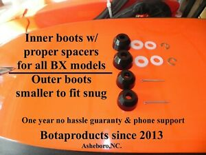 Kubota Bx Gr Tractor Inner Outer Tie Rod Replacement Boots Fits Up To Bx23s