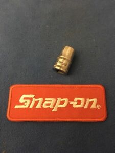 Snap On 1 4 Drive 9mm Shallow 12pt Metric Socket Tmmd9