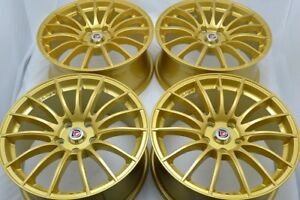 17 Gold Wheels Rims Crv Fusion Civic Milan Solara Accord Rav4 Crz Avalon 5x114 3