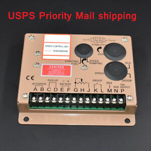 Electronic Engine Speed Controller Governor Esd5500e Generator Genset Parts New