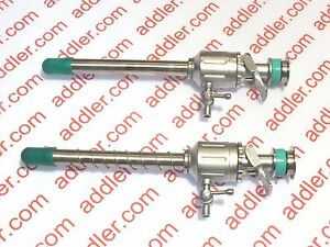 Addler Laparoscopy 10mm Trocar And 10 Mm Spiral Trocar With Free O Ring Washer