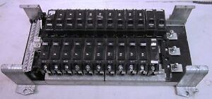 Electric Panel Board With 20 Amp Ge Breakers Used
