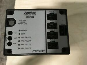 Reliance Electric Automate Local I o Head 61c22b Manual J 3671 120vac 0 5a