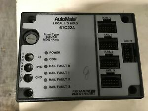 Reliance Electric Automate Local I o Head 61c22a 120vac 4amp 30 Day Warranty