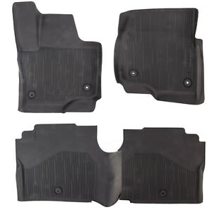 Oem New 18 21 Ford Expedition All Weather Tray Style Contour Floor Mats Black