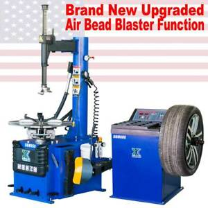 New 1 5 Hp Tire Changer Wheel Changers Machine Combo Balancer Rim Clamp950 680