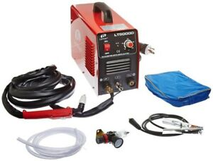 50 Amp Compact Inverter Plasma Cutter For Metal Dual Voltage 110 220v 1 2 In Cut
