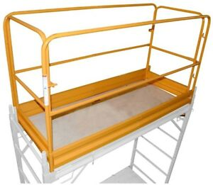 Pro series Tools Gsgrsu Pro Series Yellow Scaffolding Guard Rail System Safety