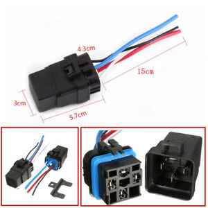 1 Set Integrated Car Truck Relay Wire 12v 40a 1 6w 4pin Auto Fuse Relay
