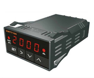 Xmt7100 Pid Temperature Controller Programmable Alarm Ssr With Red Led Digital