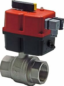Ball Valve With Electric Turn Actuator 240v G 3