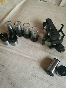 Vintage Old Antique Carl Zeiss Jena Microscope Parts