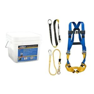Safety Gear Harness Tongue Buckle Harness Construction And Maintenance Kit New