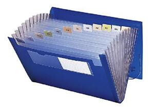 Expanding File Tabs Folder Page Organizer Document Storage Accordion Letter Size