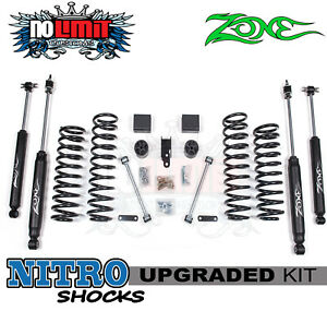 Jeep Wrangler Jk 3 Lift Kit 2007 2016 4wd Zone Offroad j12 2 door Only