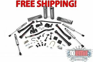 Jeep Wrangler 2dr 3 5 Lift Kit 2007 2011 Jks J Konnect System W Fox Shox 114k
