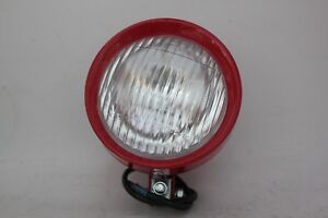 Red Tractor Work Light 12v Spot 4wd Truck Lamp Offroad 4 5 Switch Night Flood