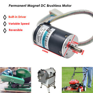 Dc Brushless Permanent Magnet Motor Variable Speed Built in Driver Generator