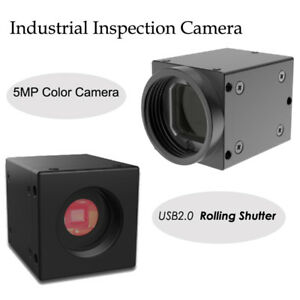 5mp Color Industrial Camera Usb2 0 Rolling Shutter Inspection Camera 1 2 5 Cmos