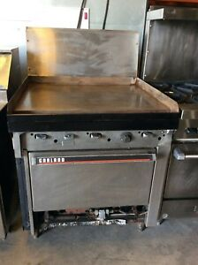 34 Garland Griddle With Standard Oven M47r