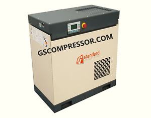 NEW GS 25 HP VSD  Rotary Screw Air Compressor  A IR END  VARIABLE SPEED DRIVE