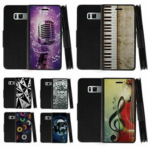 For Samsung Galaxy S8 G950 Leather Flip Wallet Case Cover w Card Slots Holder