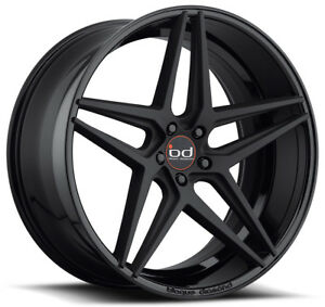 22 Blaque Diamond Bd 8 Gloss Black Wheels For Bmw F85 F86 X5 X6
