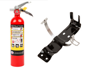 2 5 Lb Fire Extinguisher Abc Dry Chemical Rechargeable With Bracket New 2018 Ul