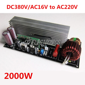 2000w Modified Sine Wave To Pure Sine Wave Inverter Power Board Amplifier Module