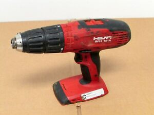 Hilti Sfh 18 a 18v 3 speed 1 2 Cordless Hammer Drill Driver Bare Tool Only